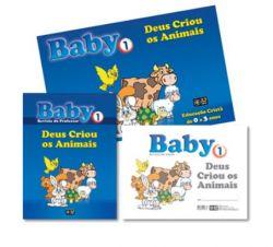 KIT Baby 1 - Deus Criou os Animais