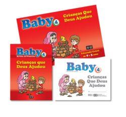 KIT Baby 4 - Crianças que Deus Ajudou