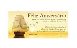 Cartão Z3 Feliz Aniversário Amarelo