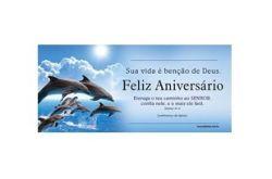Cartão Z3 Feliz Aniversário Azul