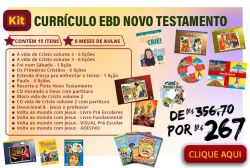 KIT Currículo EBD Novo Testamento