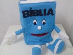 Fantoche Bíblia Azul Claro