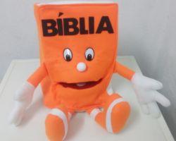 Fantoche Bíblia Laranja