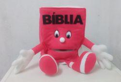 Fantoche Bíblia Rosa