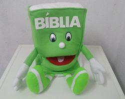 Fantoche Bíblia Verde Claro