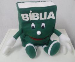 Fantoche Bíblia Verde Escuro