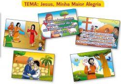 Figuras Jesus Minha Maior Alegria (Tam Gigante)