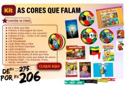KIT As Cores que Falam