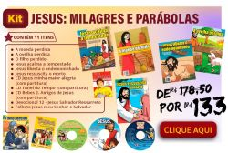 KIT Jesus: Milagres e Parábolas