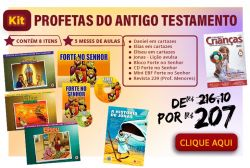 KIT Profetas do Antigo Testamento