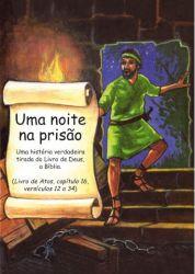 Folheto Uma Noite na Prisão