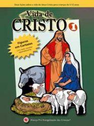 Vida de Cristo 1-2 - SÓ FIGURAS de Flanelógrafo