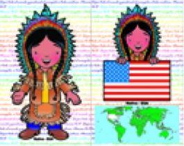 Almofada Nativo USA