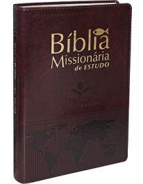 Bíblia Missionária Vinho Nobre