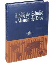 Bíblia de Estudio La Mision de Dios Azul