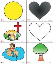 Cartões com Símbolos Médio