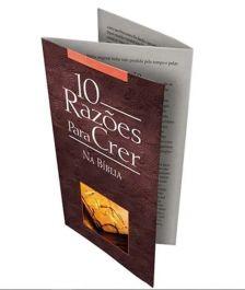 Folheto 10 Razões Para Crer na Bíblia