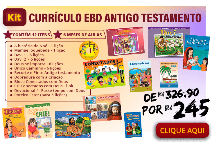 Kit EBD Antigo Testamento