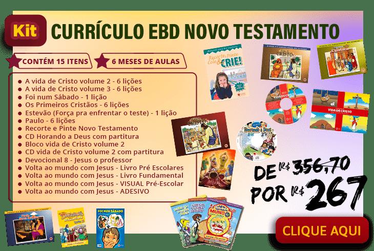 Kit EBD Novo Testamento
