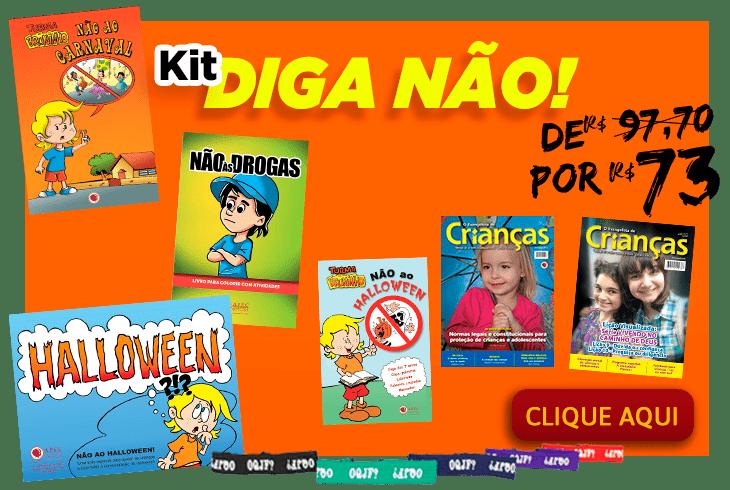 Kit Diga Não, Carnaval, ...